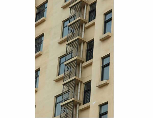 建筑外墙百叶窗