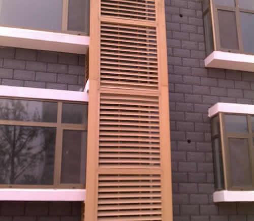 室外百叶窗